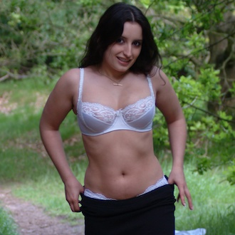 Jasmine strips in the woods